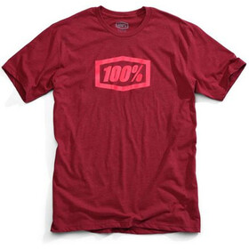 100% Essential T-Shirt Men burgundy